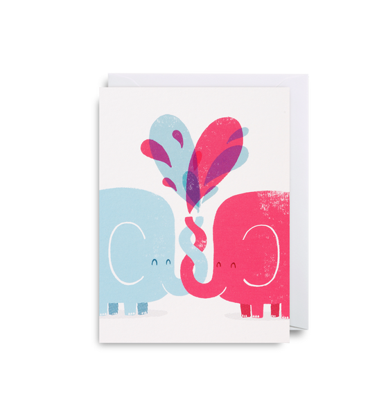 Elephant Love Mini Card - Lagom Design