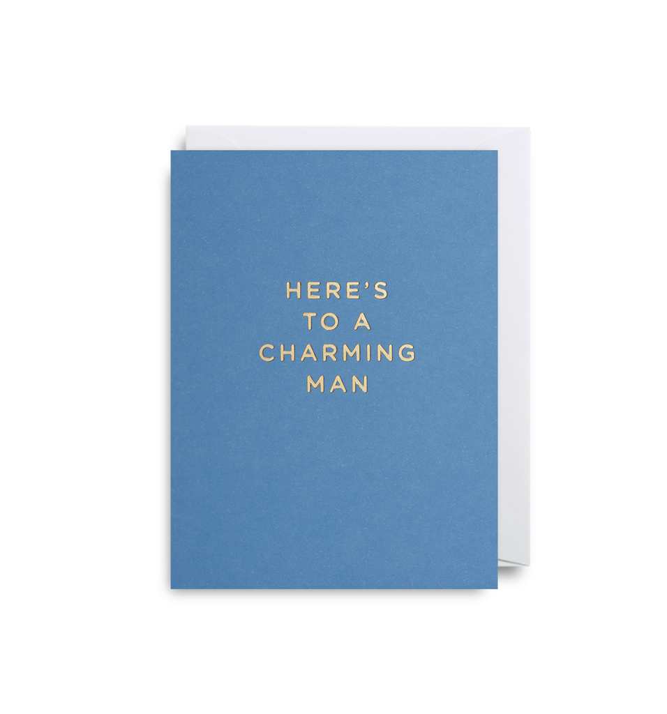 Charming Man Mini Card - Lagom Design