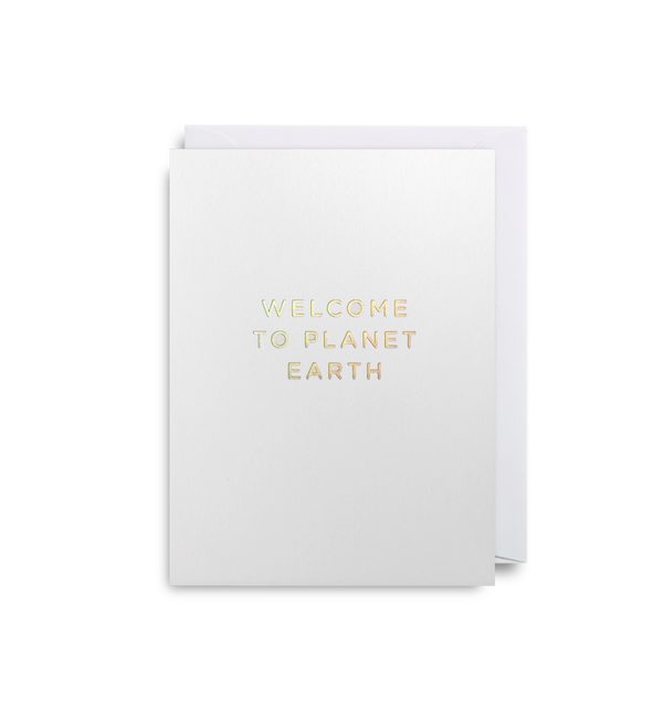 Welcome to Planet Earth - Lagom Design