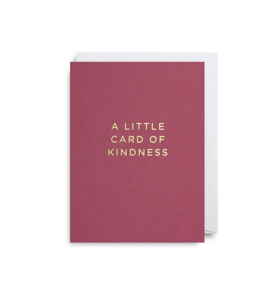 Card of Kindness Mini Card - Lagom Design