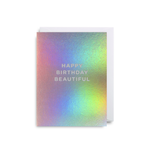 Happy Birthday Beautiful - Lagom Design
