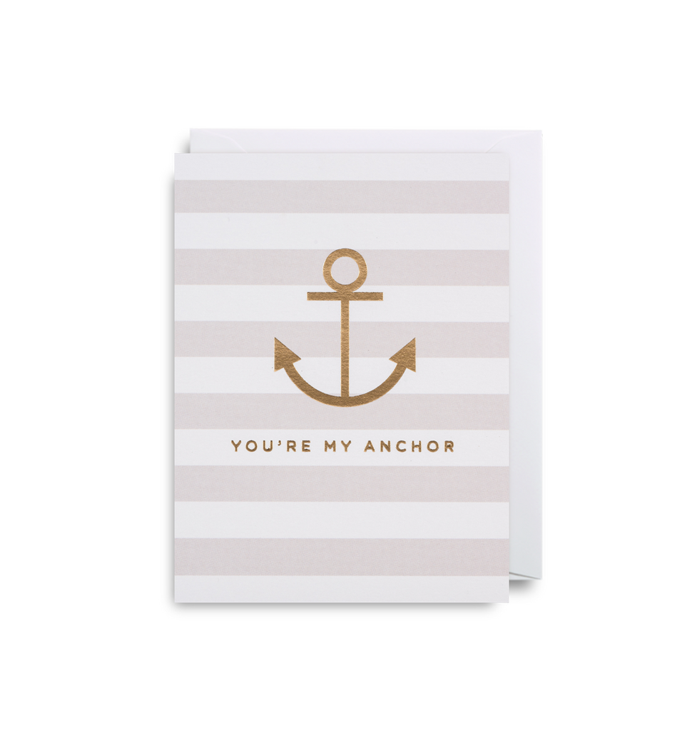 You're My Anchor Mini Card - Lagom Design