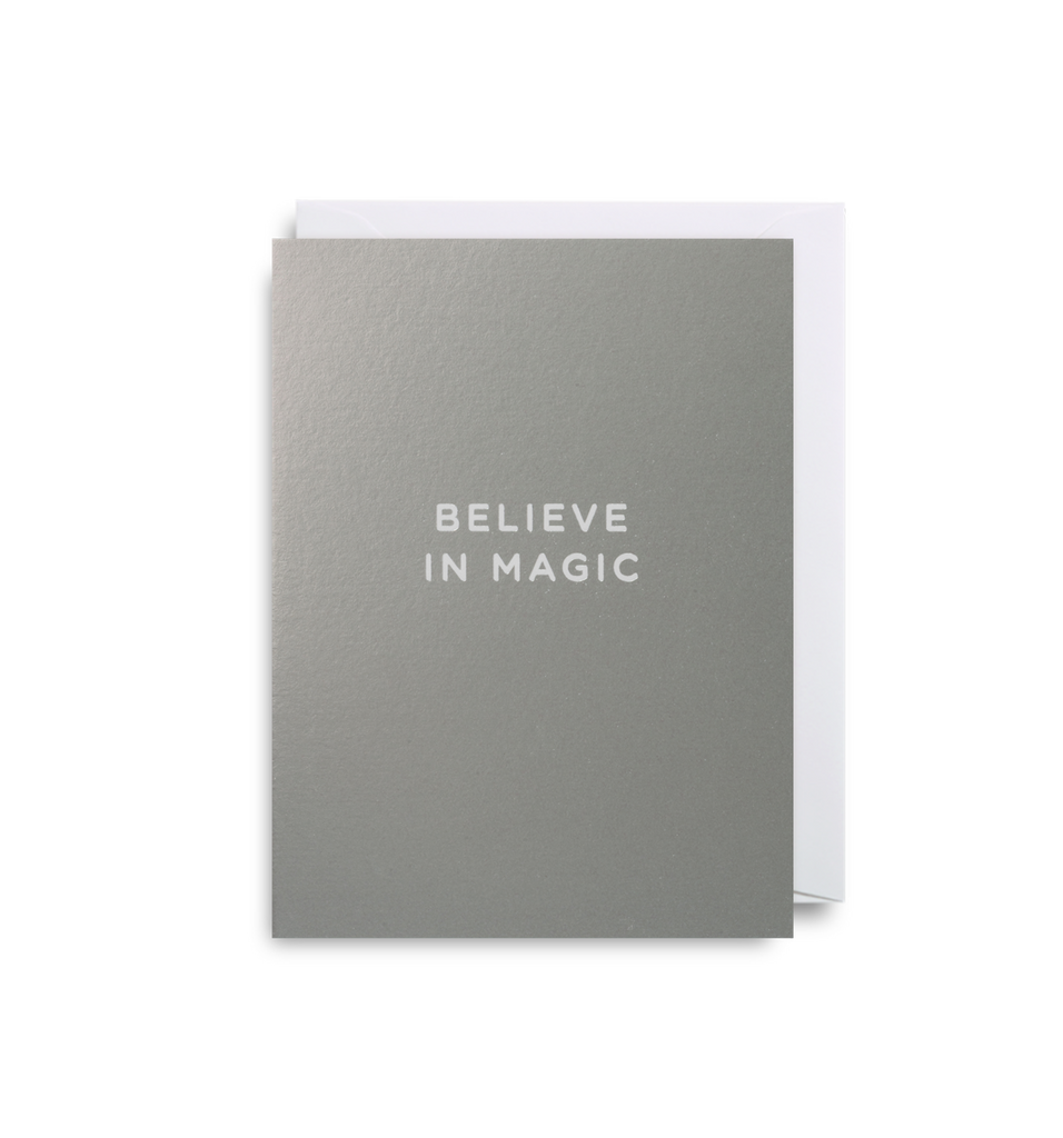 Believe In Magic Mini Card - Lagom Design