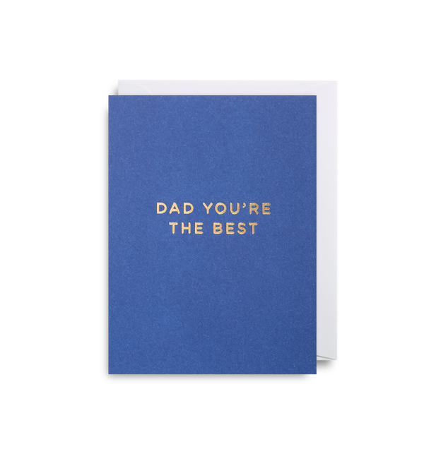Dad You're The Best - Lagom Design