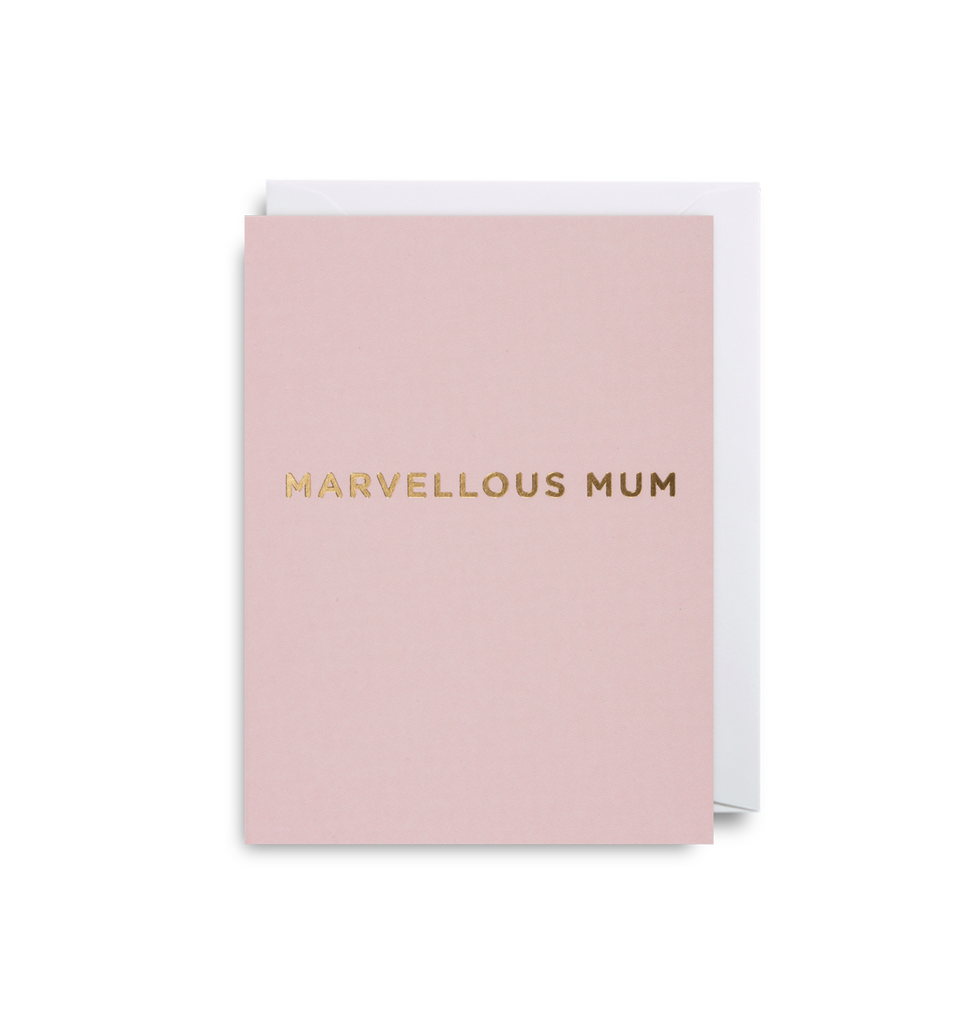 Marvellous Mum Mini Card - Lagom Design