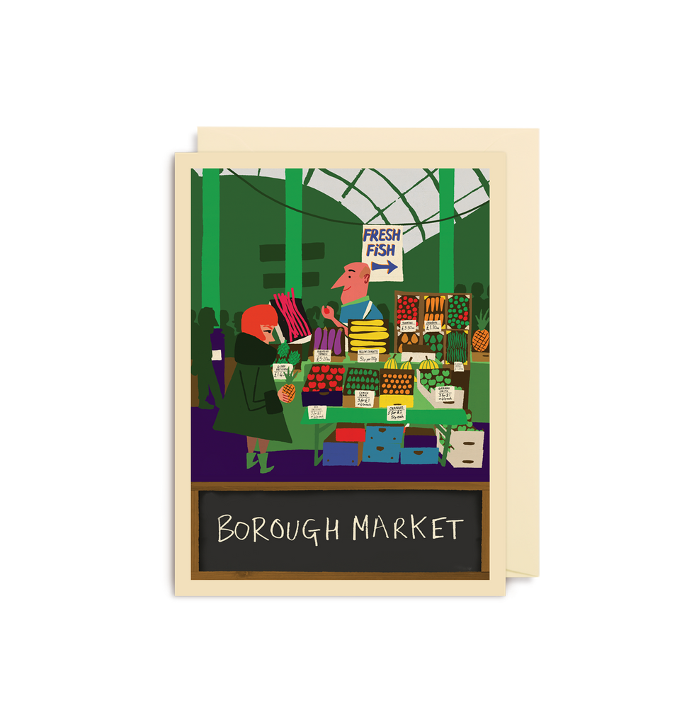 Borough Market Mini Card - Lagom Design
