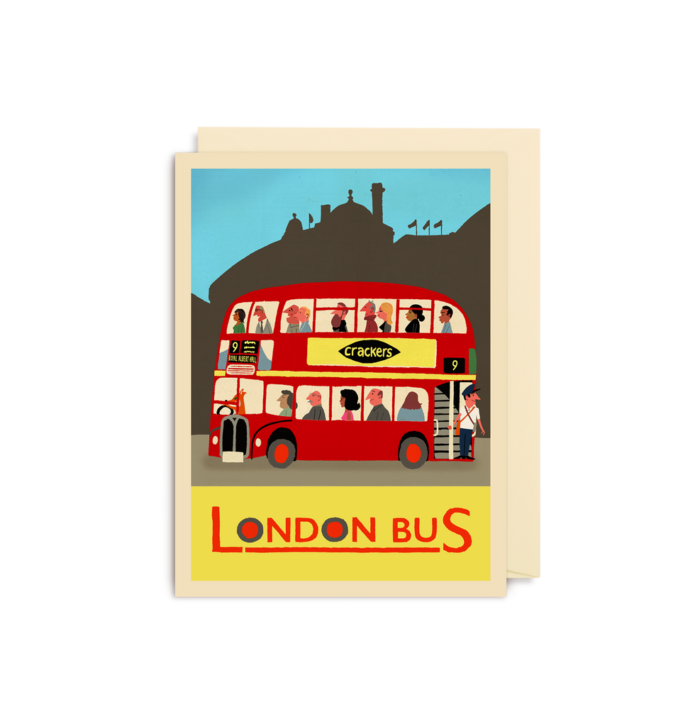 London Bus Mini Card