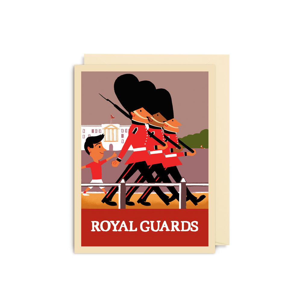 Royal Guards Mini Card