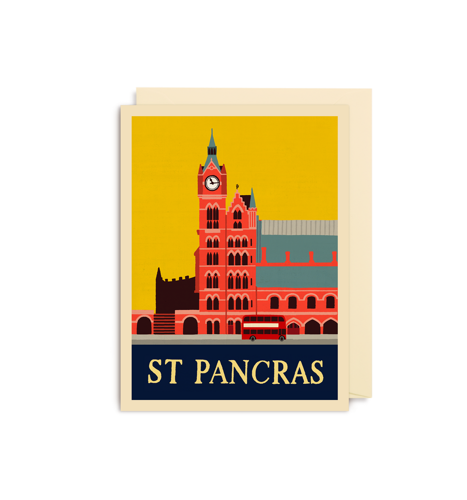 St Pancras Mini Card