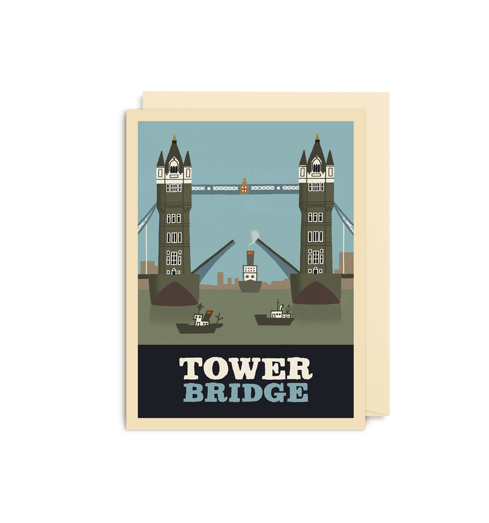 Tower Bridge Mini Card