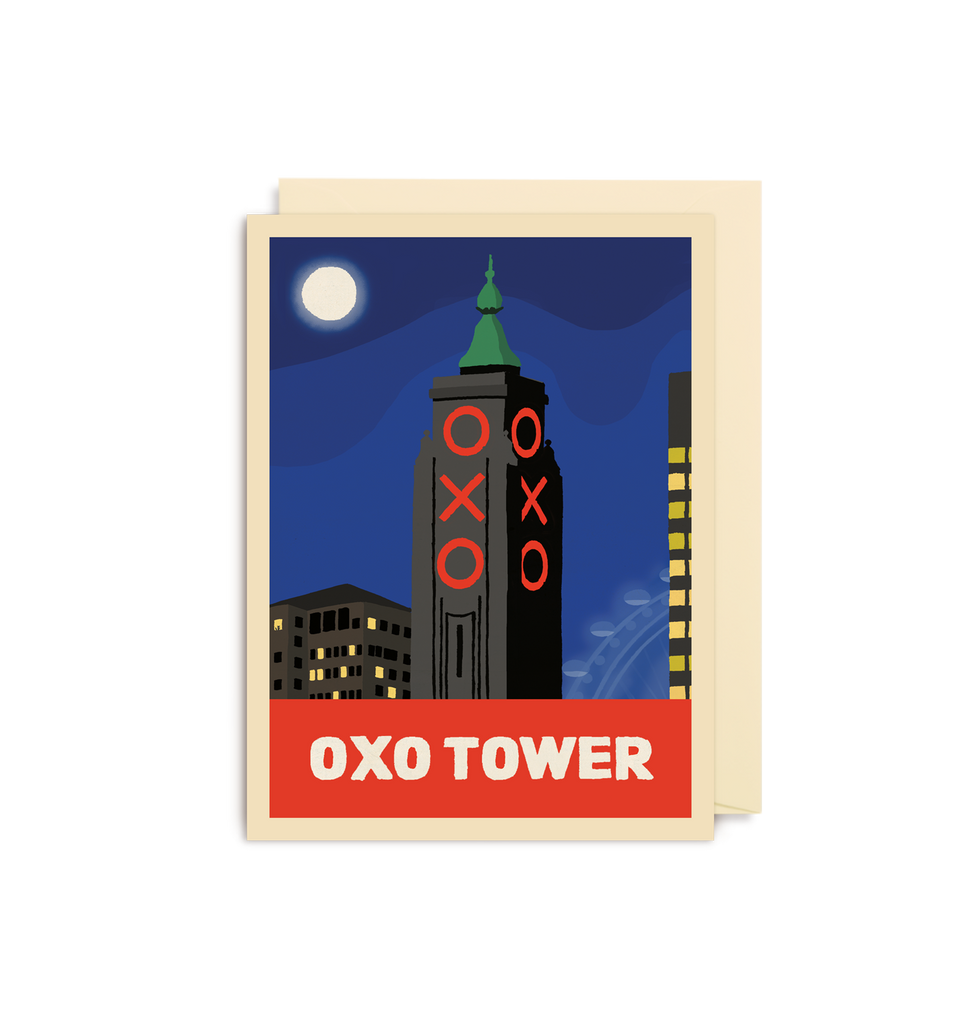 Oxo Tower Mini Card