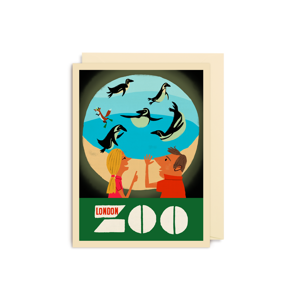 London Zoo Mini Card