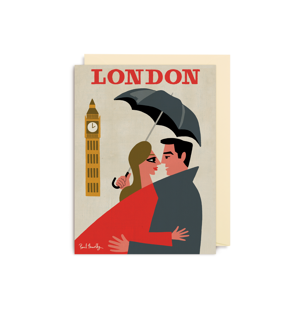London Couple Mini Card