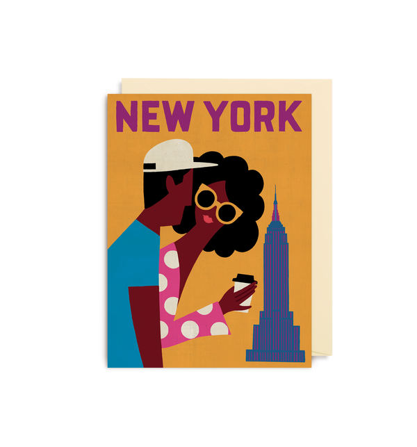 New York Mini Card - Lagom Design