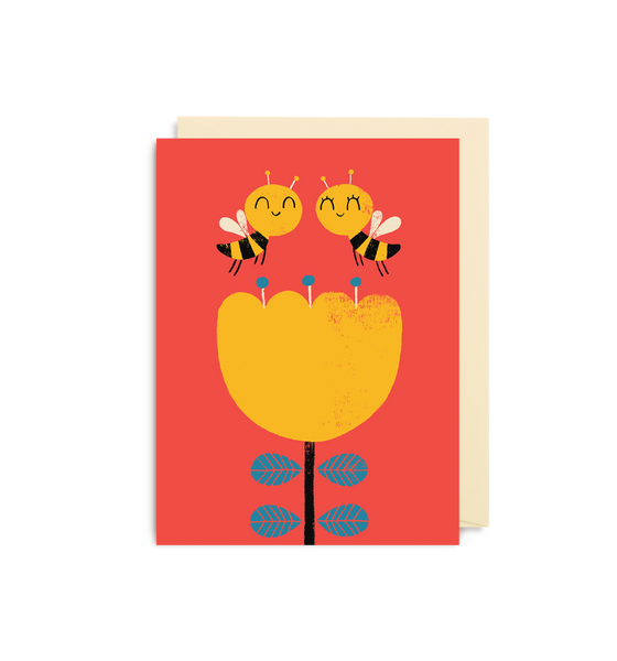 Bee Mine Mini Card - Lagom Design