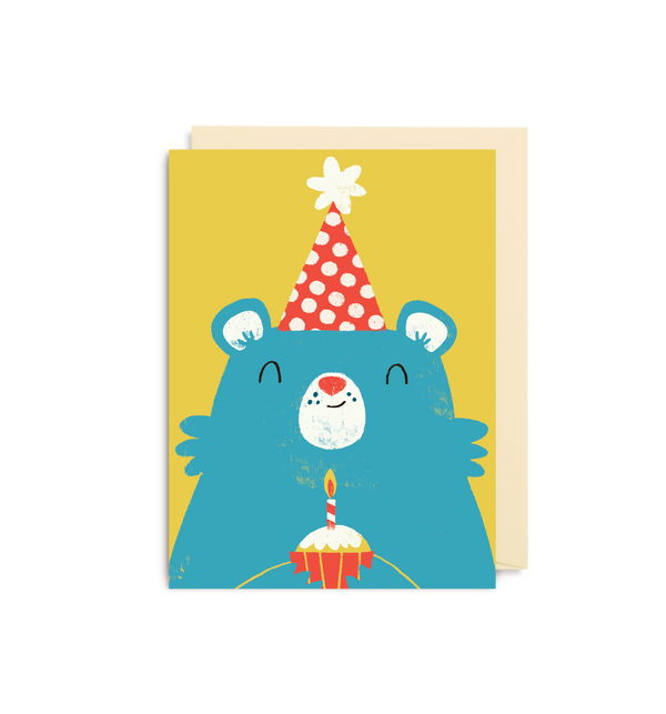 Birthday Bear - Lagom Design