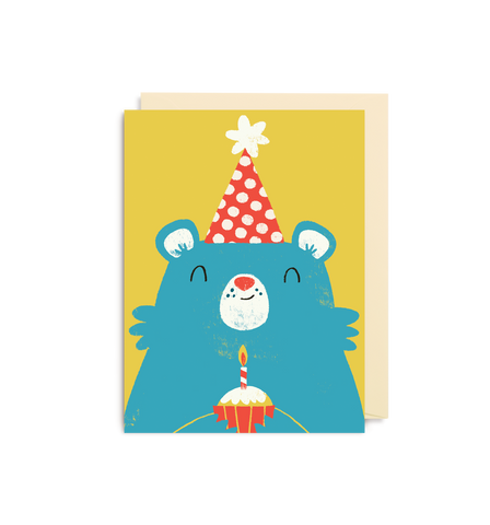 Birthday Bear Mini Card
