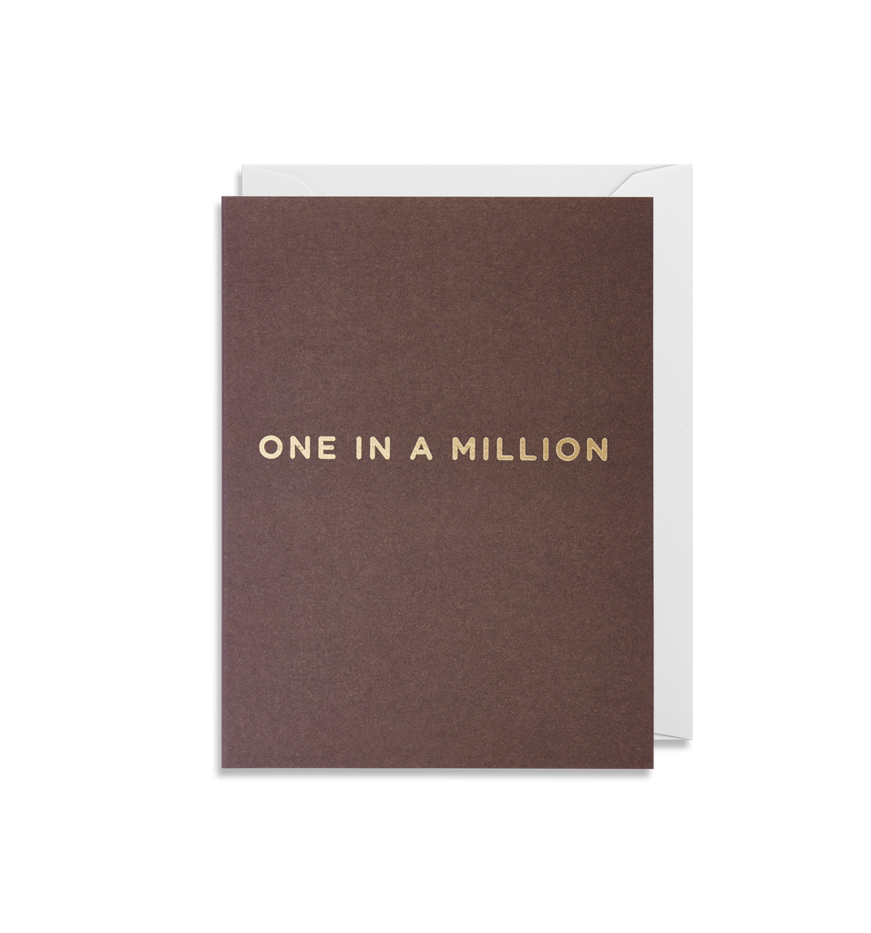 One In A Million Mini Card