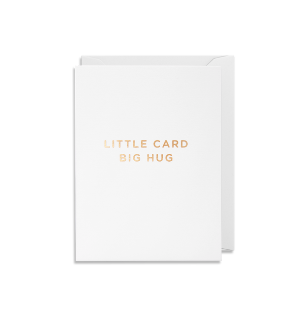 Little Card Big Hug - Lagom Design