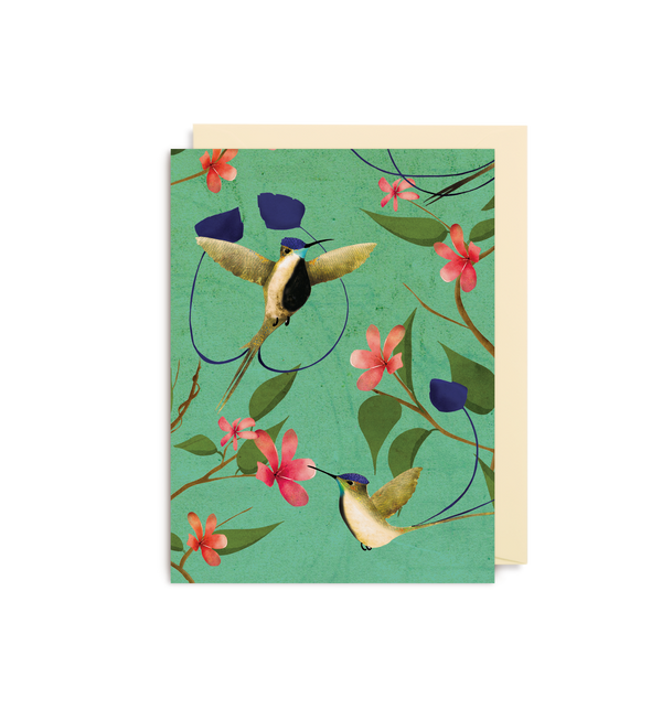 Marvellous Hummingbird Mini Card - Lagom Design