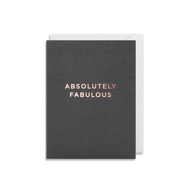 Absolutely Fabulous - Lagom Design