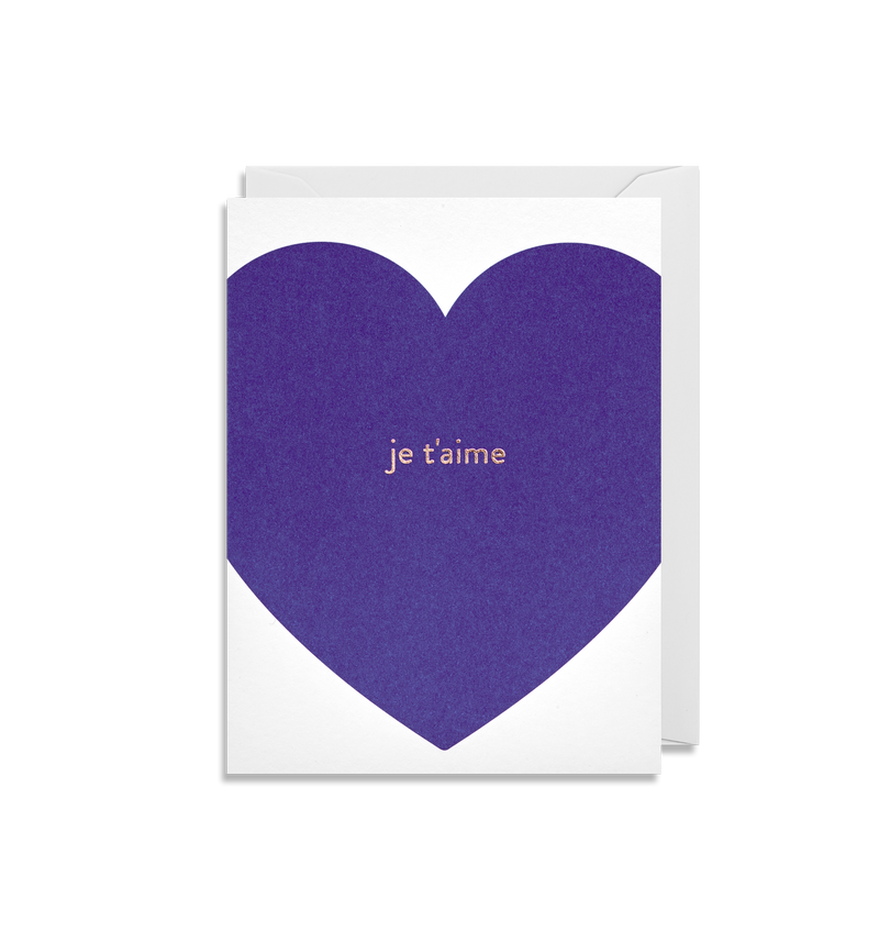Je t'aime Mini Card - Lagom Design