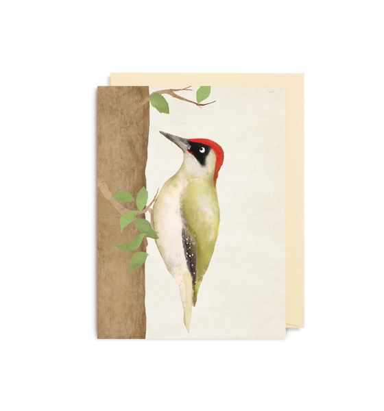 Woodpecker Mini Card
