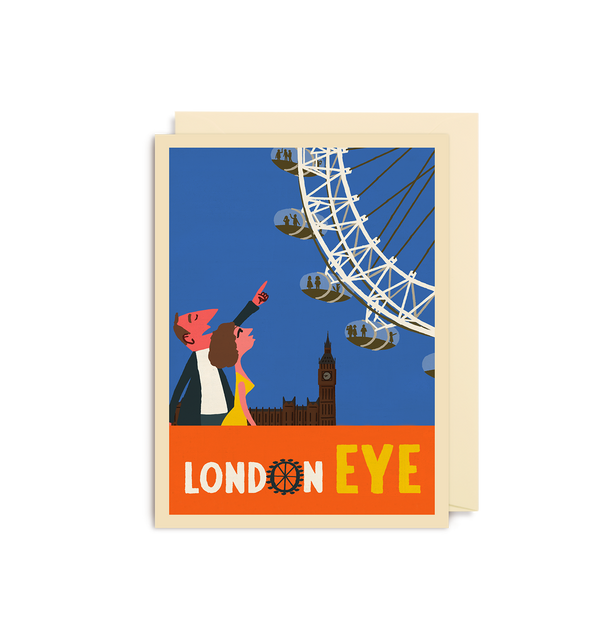 London Eye Mini Card - Lagom Design