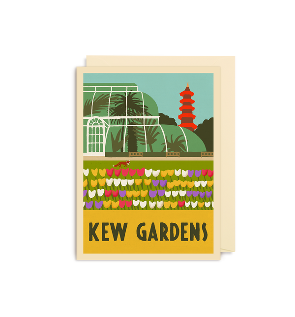 Kew Gardens Mini Card - Lagom Design
