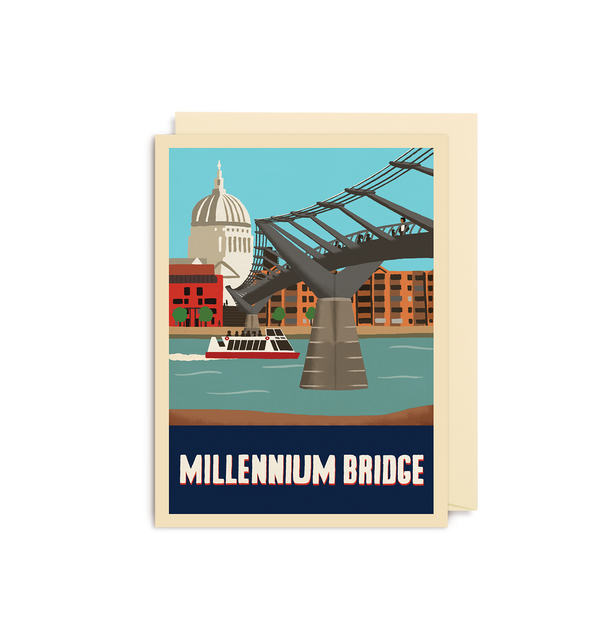 Millennium Bridge Mini Card - Lagom Design