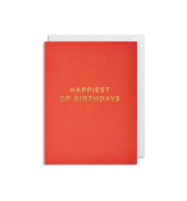 Happiest of Birthdays Mini Card - Lagom Design