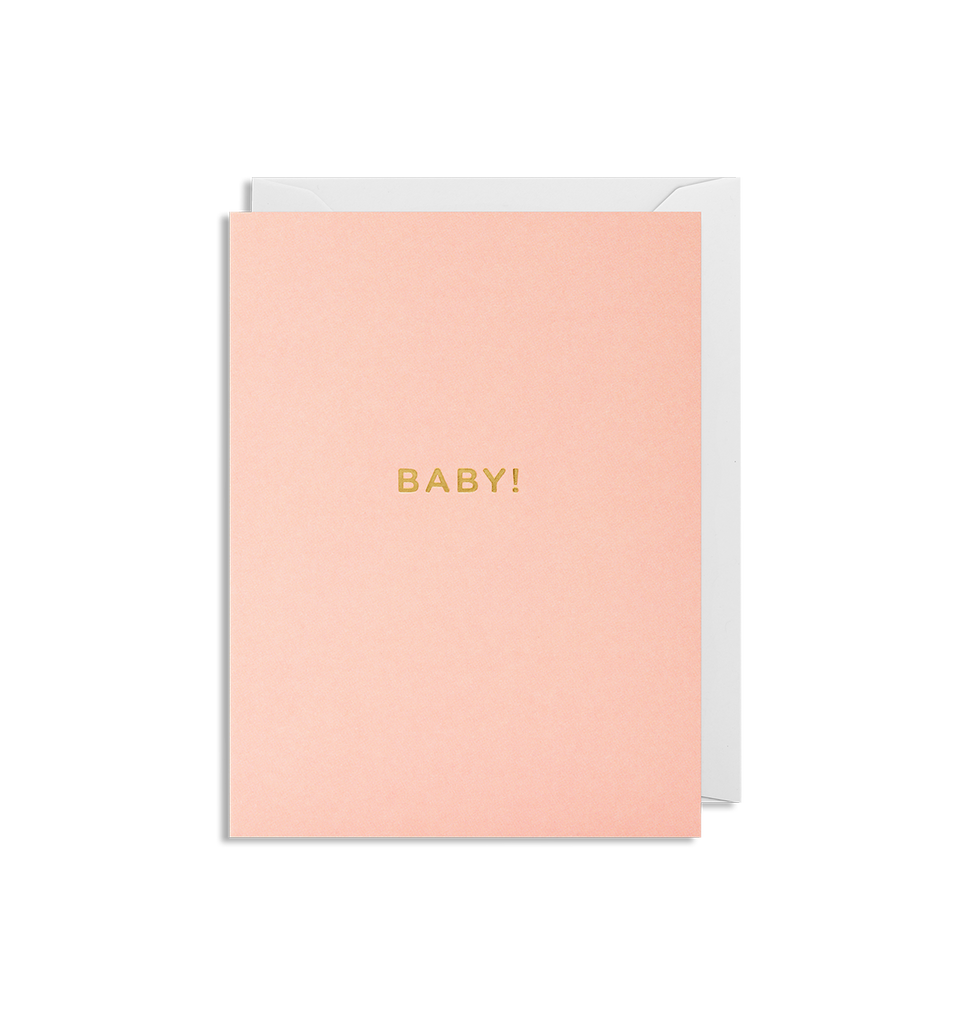 Baby Girl! Mini Card - Lagom Design
