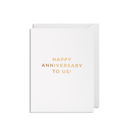 Happy Anniversary To Us! Mini Card - Lagom Design