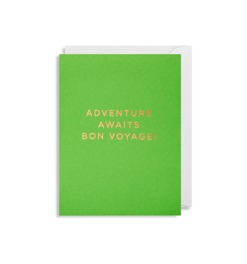 Adventure Awaits Bon Voyage - Lagom Design