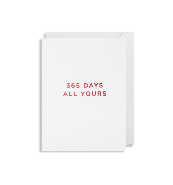 365 Days All Yours - Lagom Design