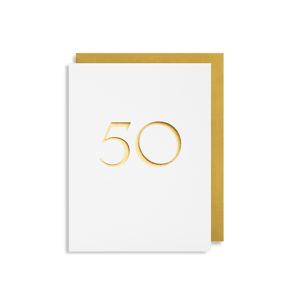 50 Mini Card - Lagom Design