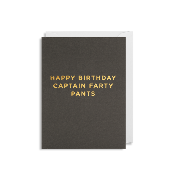 Captain Farty Pants - Lagom Design