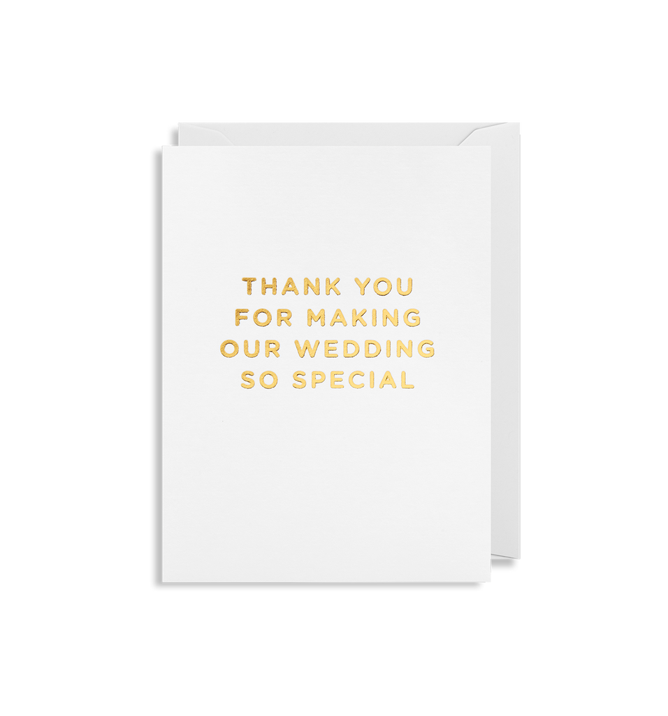 Thank You Wedding Mini Card
