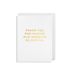 Thank You Wedding - Lagom Design