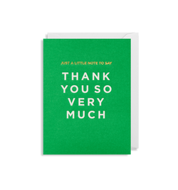 Thank You So Very Much - Lagom Design