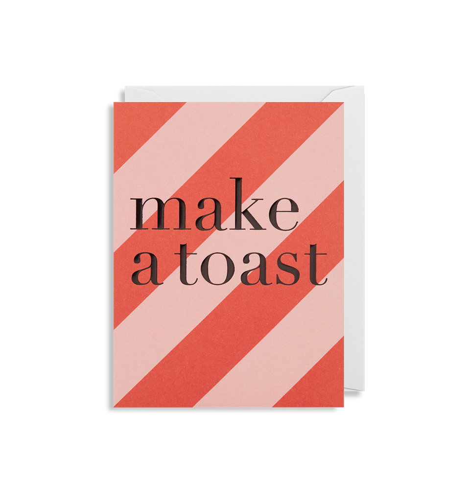 Make A Toast Mini Card - Lagom Design