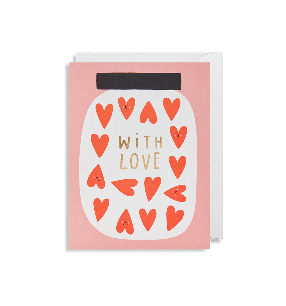 With Love Mini Card - Lagom Design