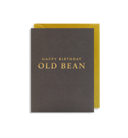 Happy Birthday Old Bean - Lagom Design
