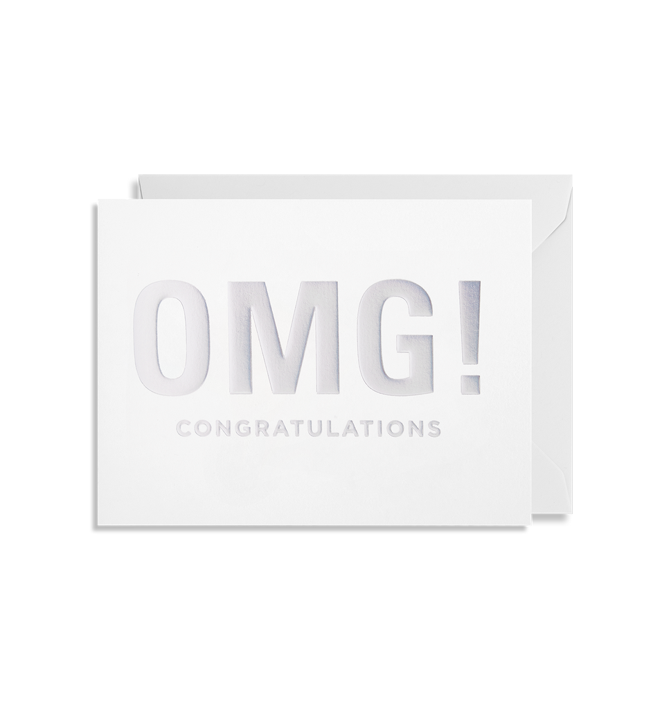 OMG! Congratulations Mini Card - Lagom Design
