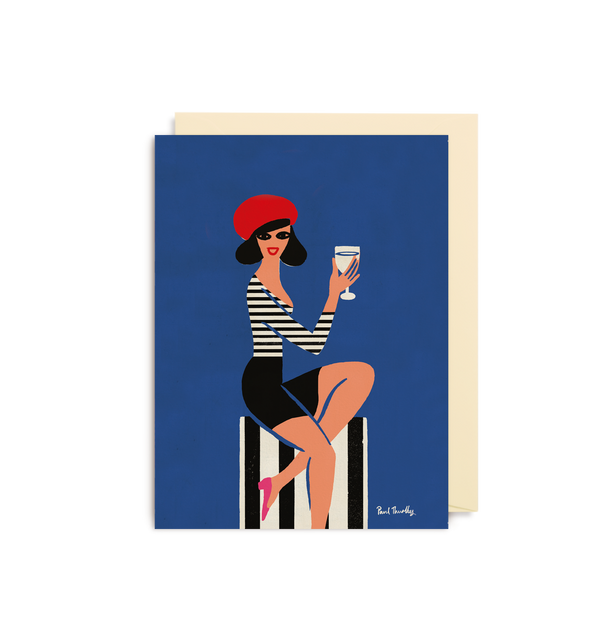 Parisienne Mini Card - Lagom Design