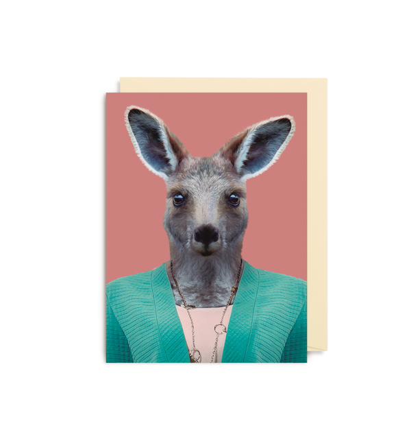 Eastern Grey Kangaroo - Lagom Design