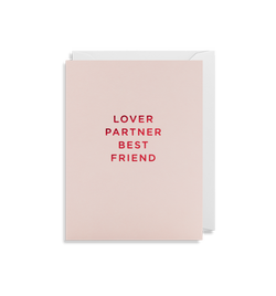 Lover Partner Best Friend - Lagom Design