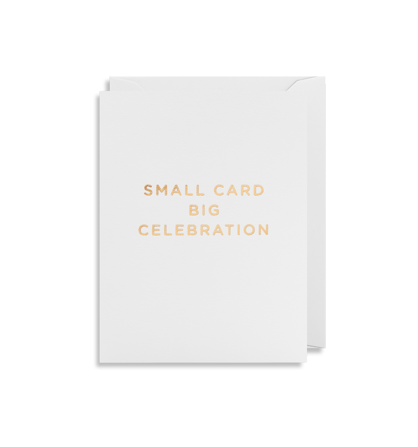 Small Card Big Celebration