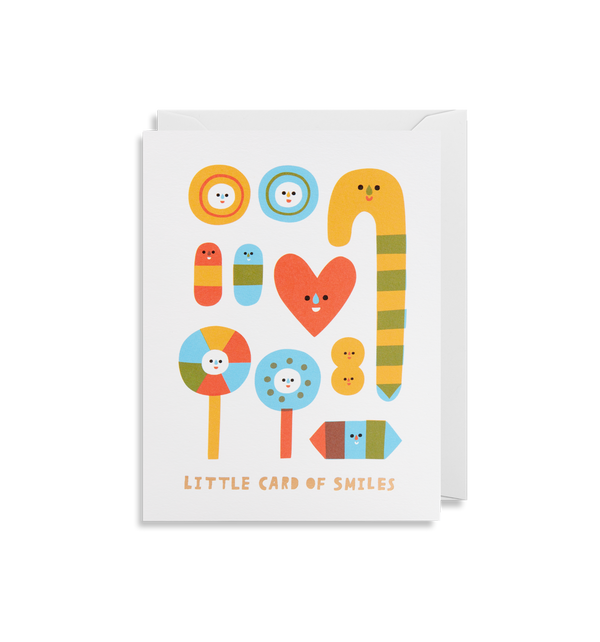 Little Card of Smiles - Lagom Design