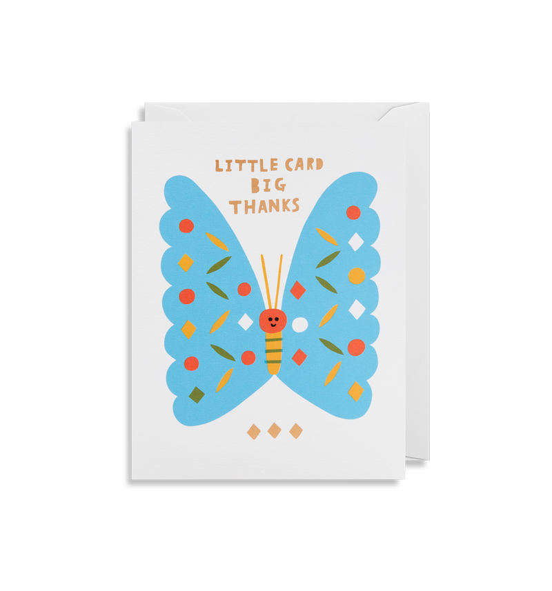 Little Card Big Thanks - Lagom Design